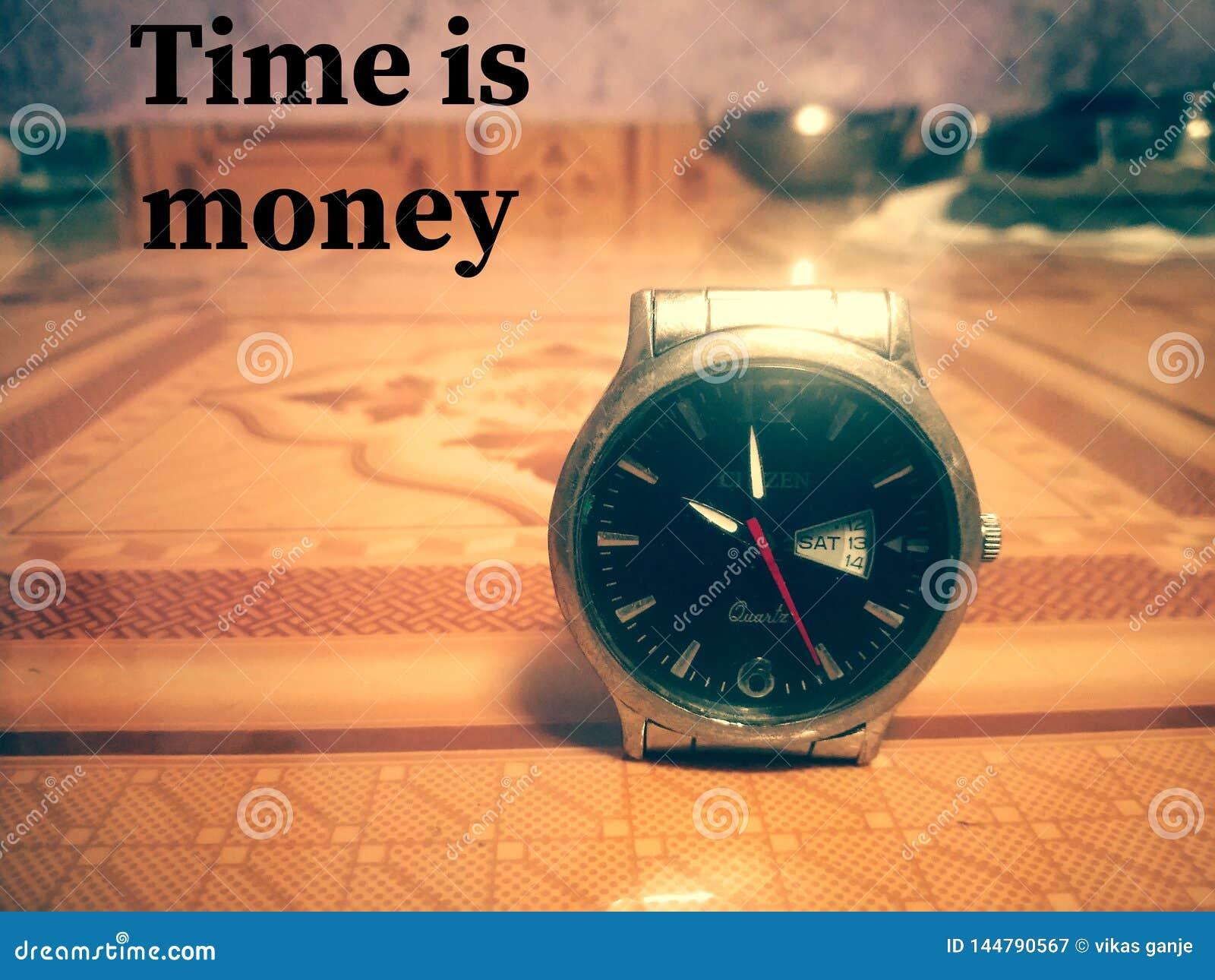 Tid är pengartapeten