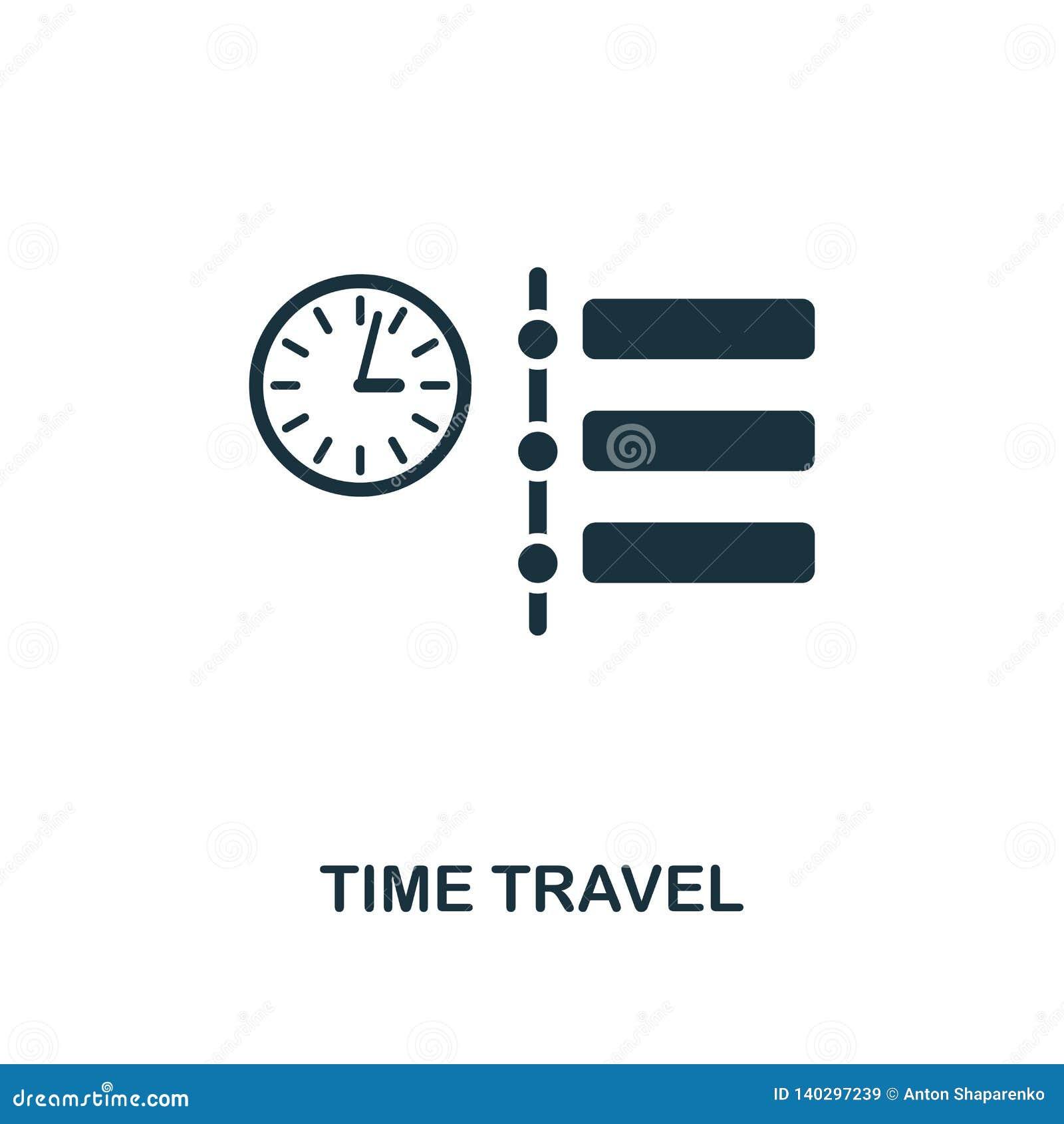 Tid loppsymbol Högvärdig stildesign från den framtida teknologisymbolssamlingen För Tid för PIXEL perfekt symbol lopp för rengöri