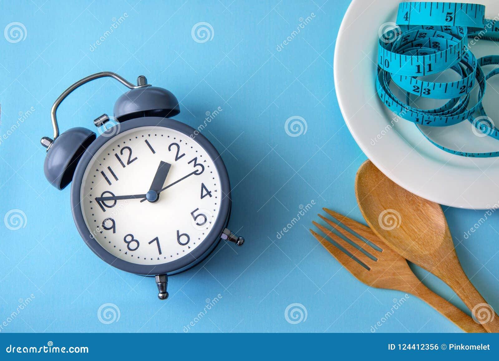 Tid som förlorar vikt och att äta kontroll eller tid för att banta begrepp, a