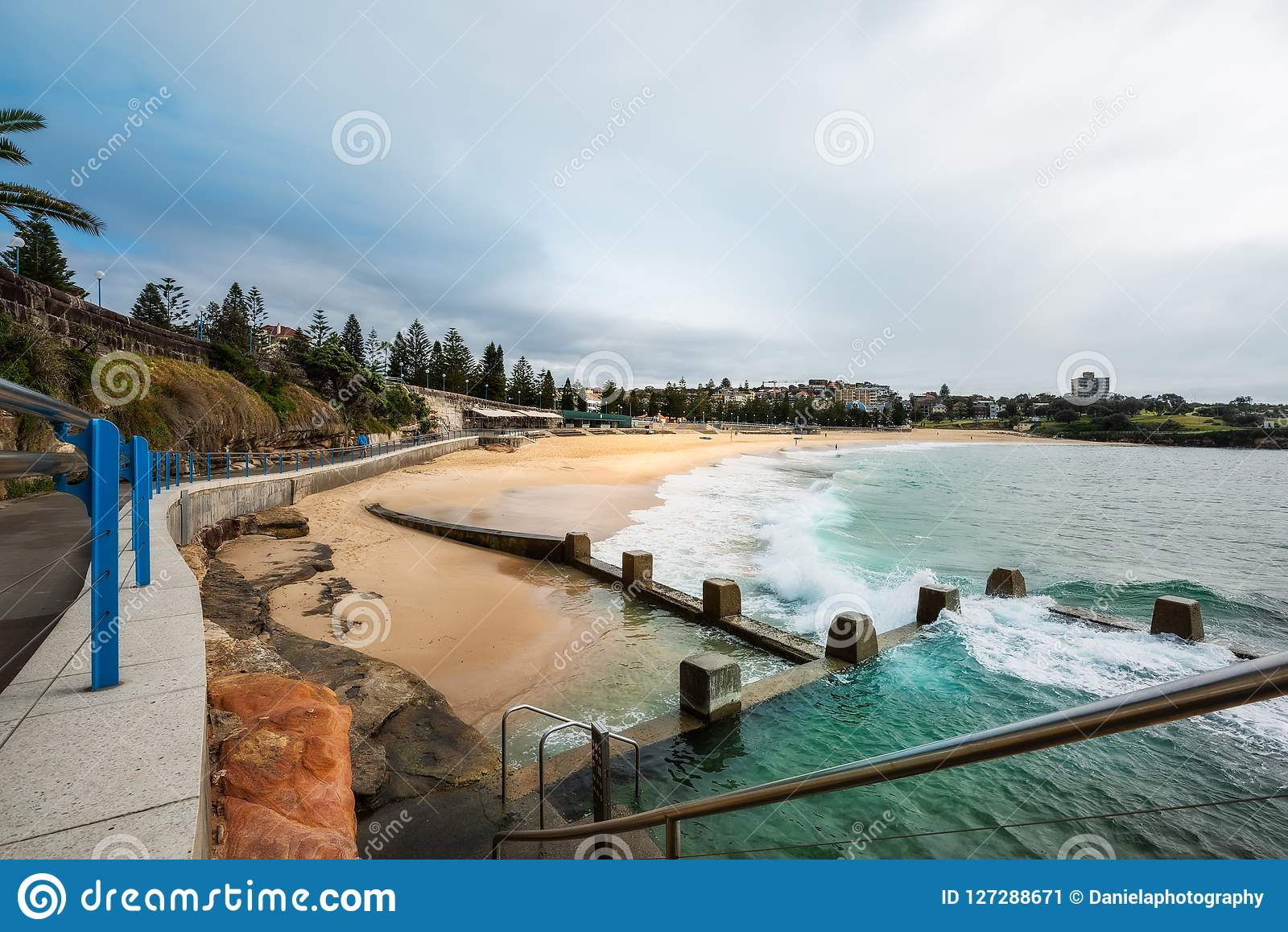 Tidal Pools at Coogee Beach, Sydney, Australia.