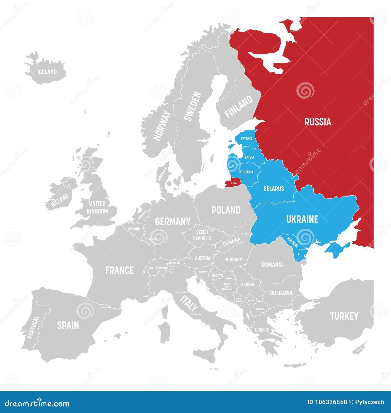 Lettland Karta Europa.Tidigare Union Of Soviet Socialist Republics Ussr Ryssland
