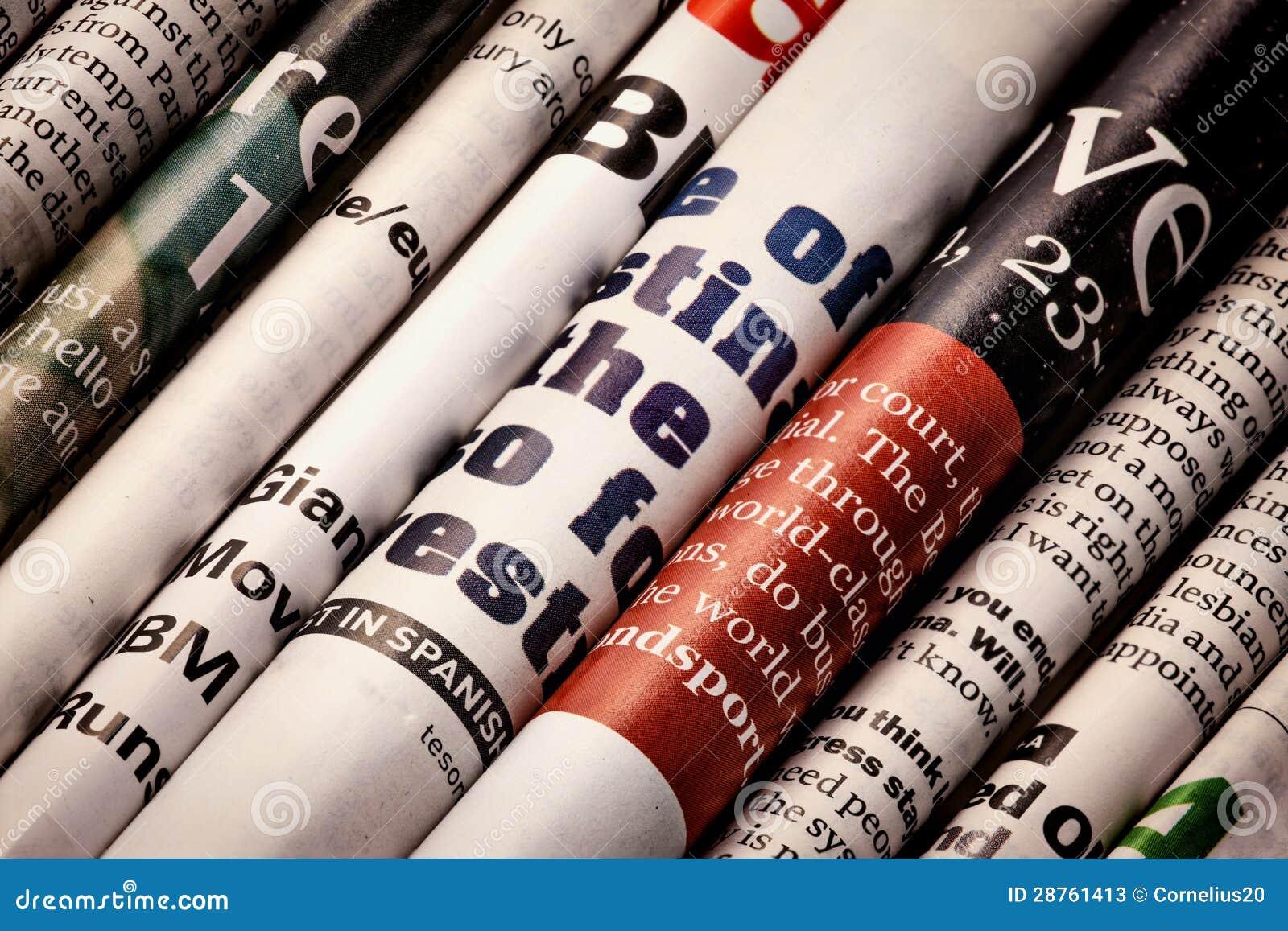 Tidningar specificerar