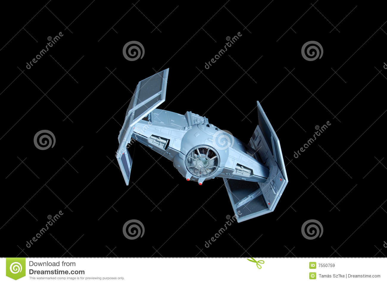 Tie Bomber Royalty Free Stock Images