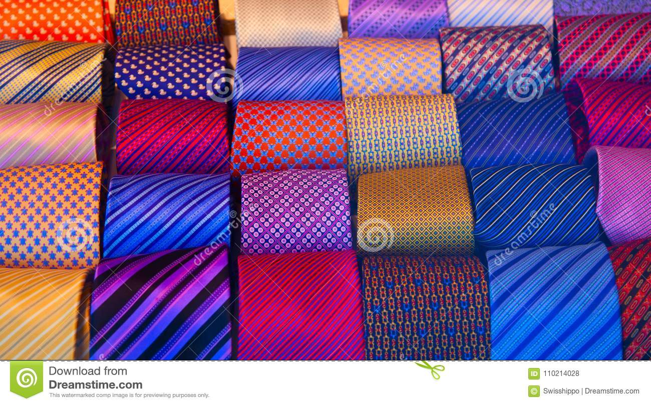 c94aadccafc3 Tie collection stock photo. Image of formal, business - 110214028