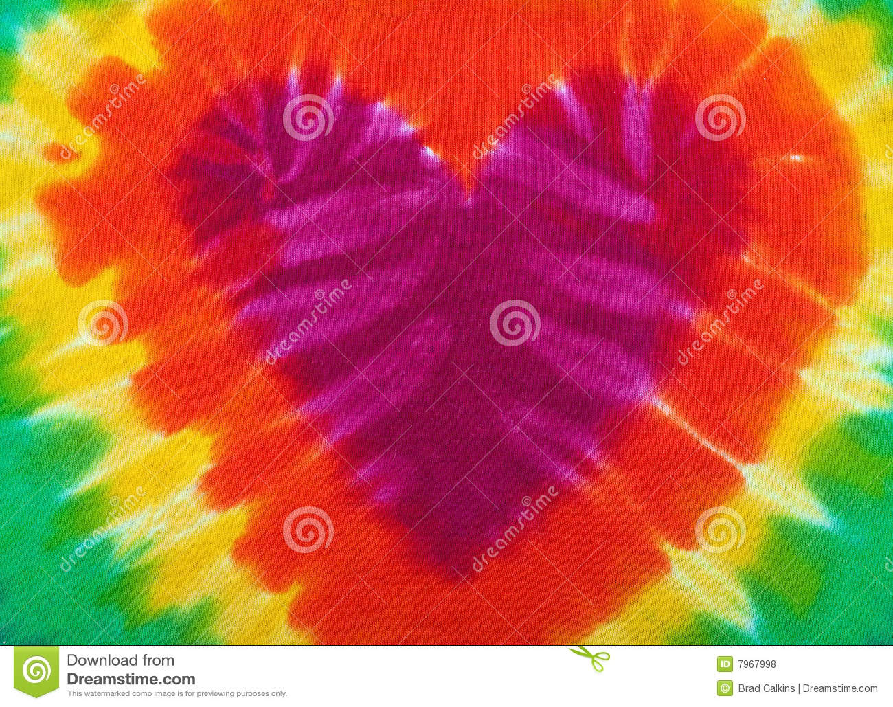 Tie dye heart stock photo image of colourful abstract 7967998 tie dye heart voltagebd Image collections