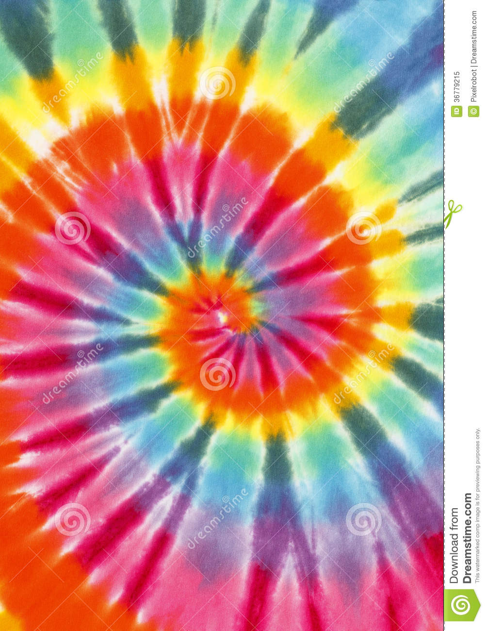 Tie Dye Stock Image Image Of Culture Concert Frame