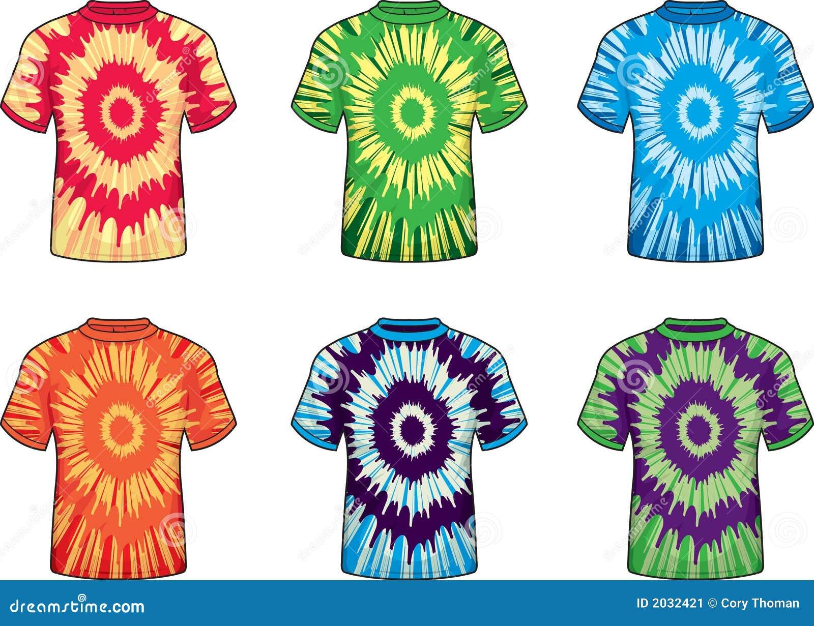 9d021007 Tie Dye Shirts stock vector. Illustration of vector, shirt - 2032421