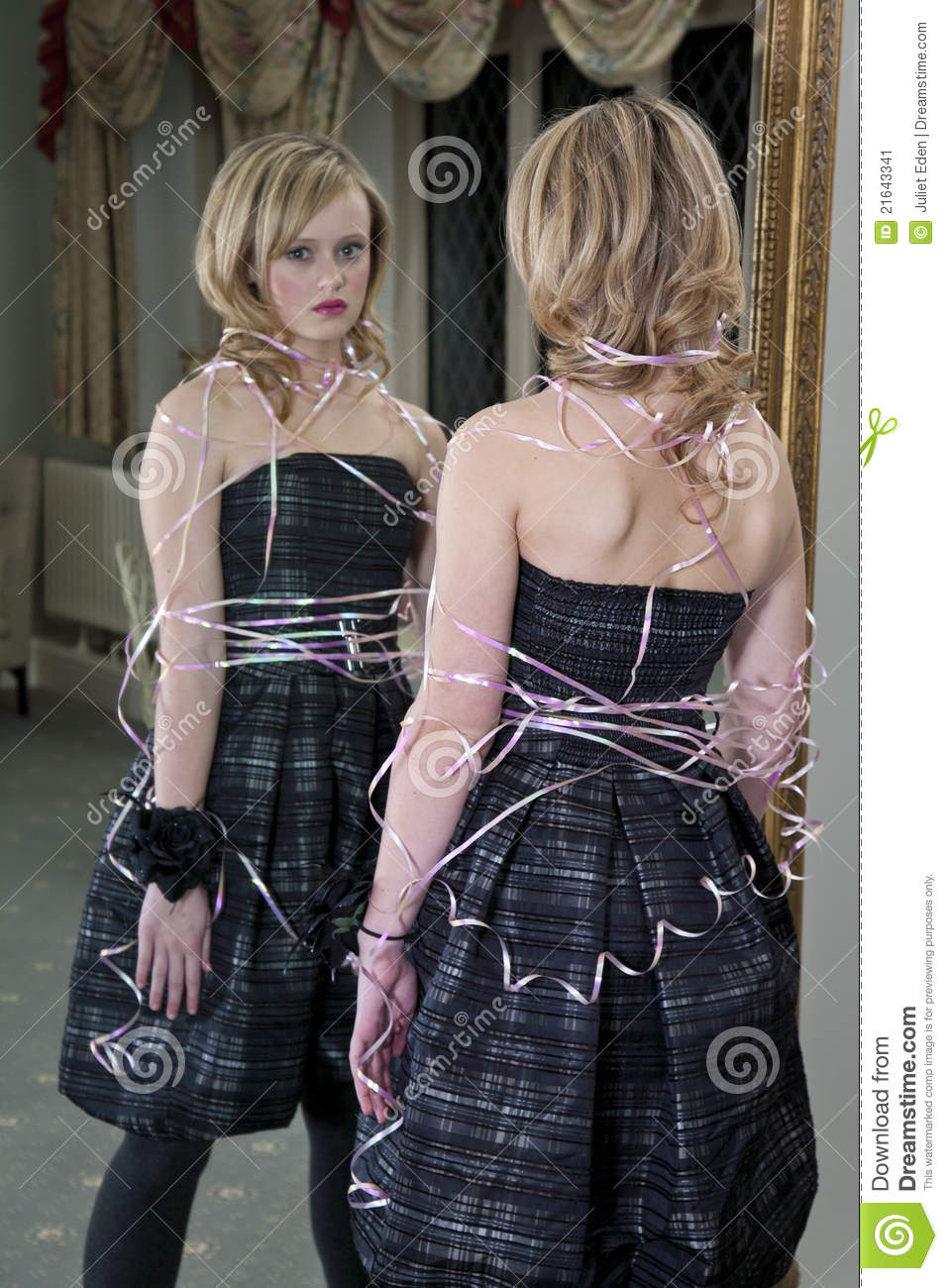 Pictures of girls tied up