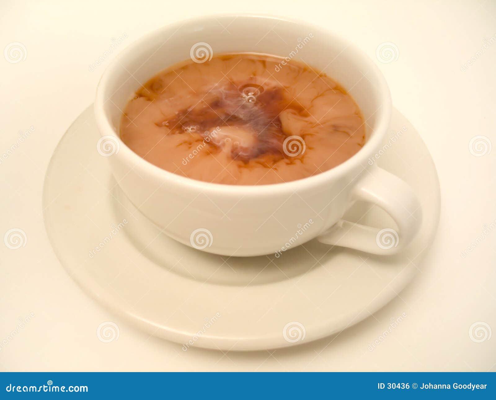 Download Tiempo 3 del té foto de archivo. Imagen de teacup, café - 30436