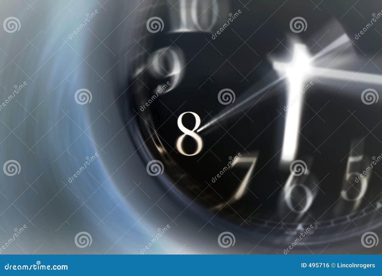 Tiempo que hace girar rápidamente