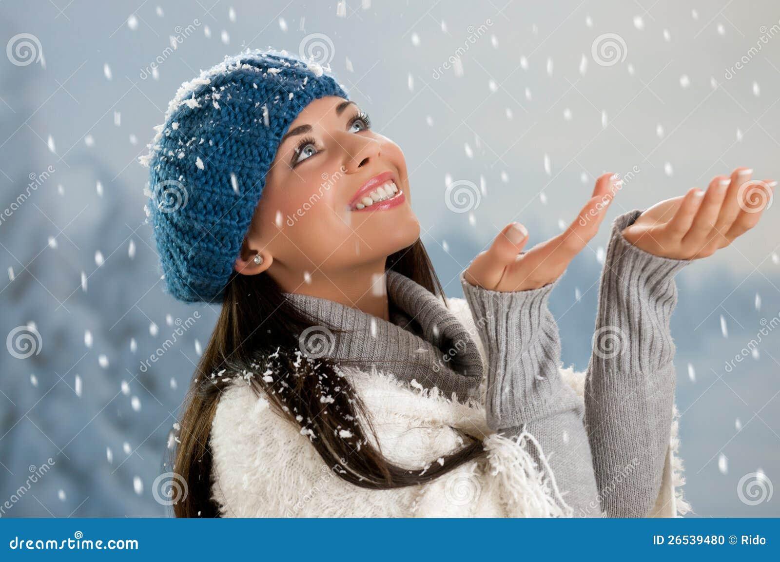 Tiempo que nieva en invierno