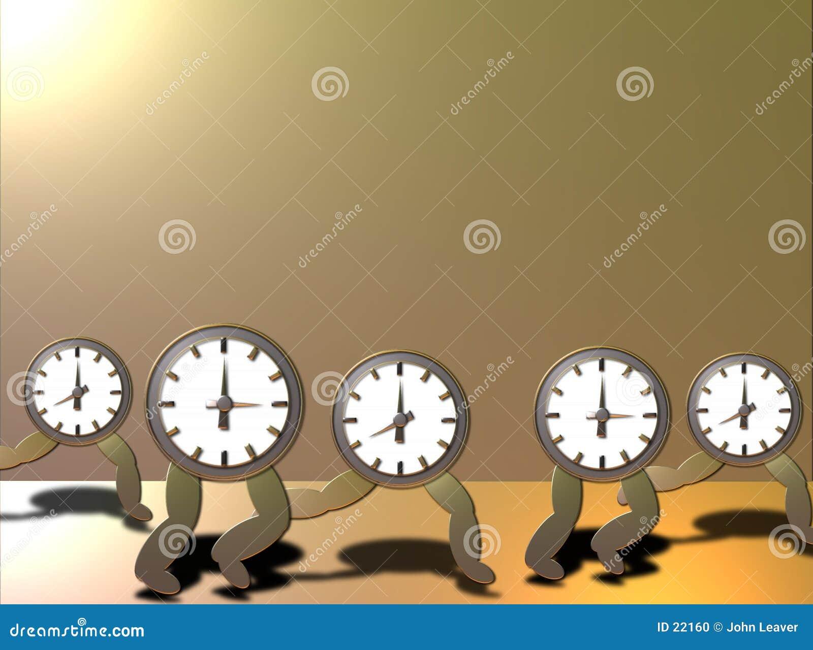 Tiempo que se ejecuta hacia fuera