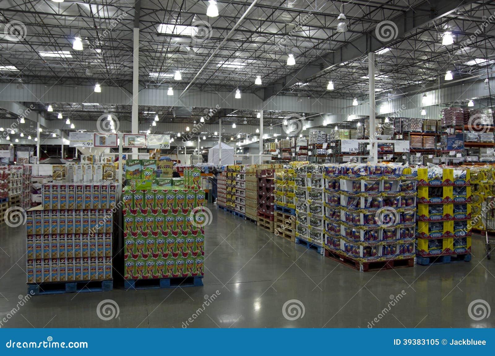 Tienda de costco imagen editorial imagen 39383105 - Costco productos y precios ...