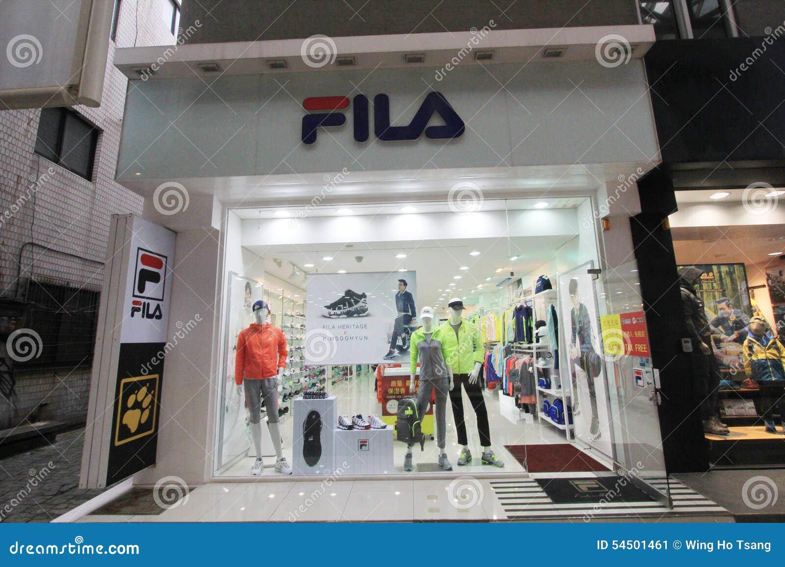 Tienda De Fila En Corea Del Sur Foto editorial - Imagen de venta ... 9bd229429d9