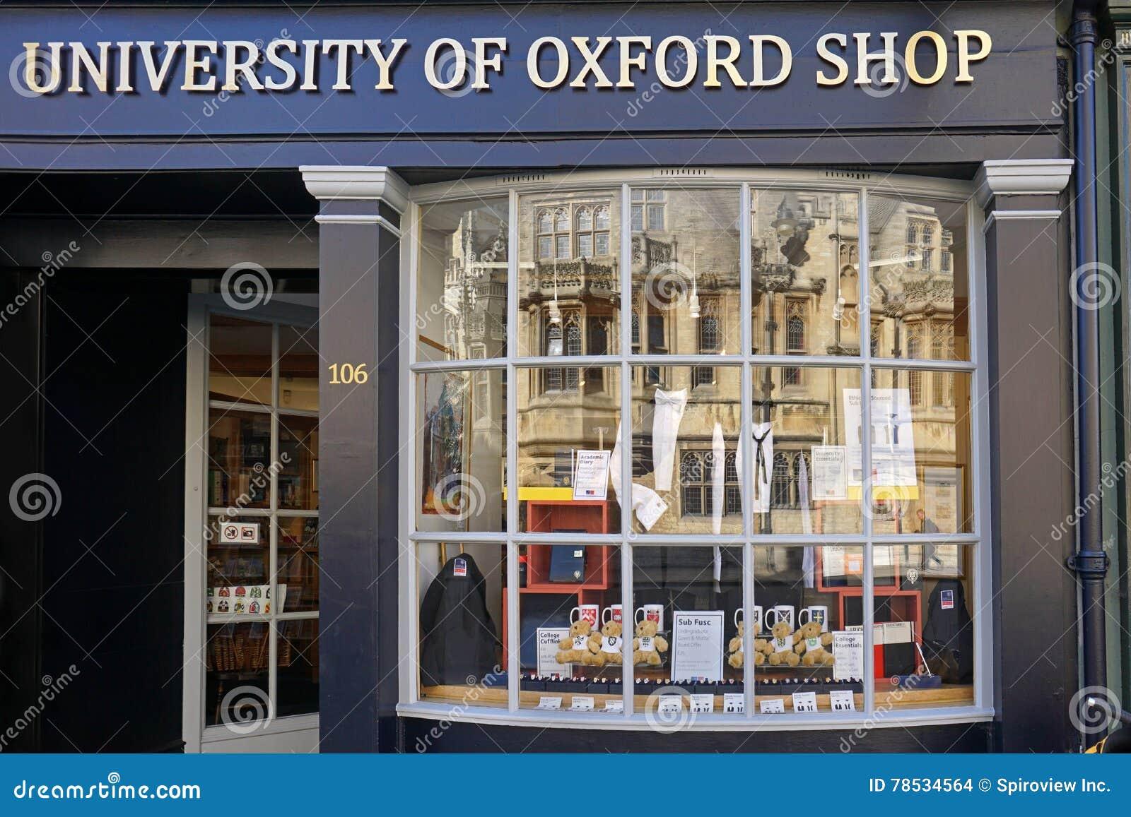Tienda de la Universidad de Oxford