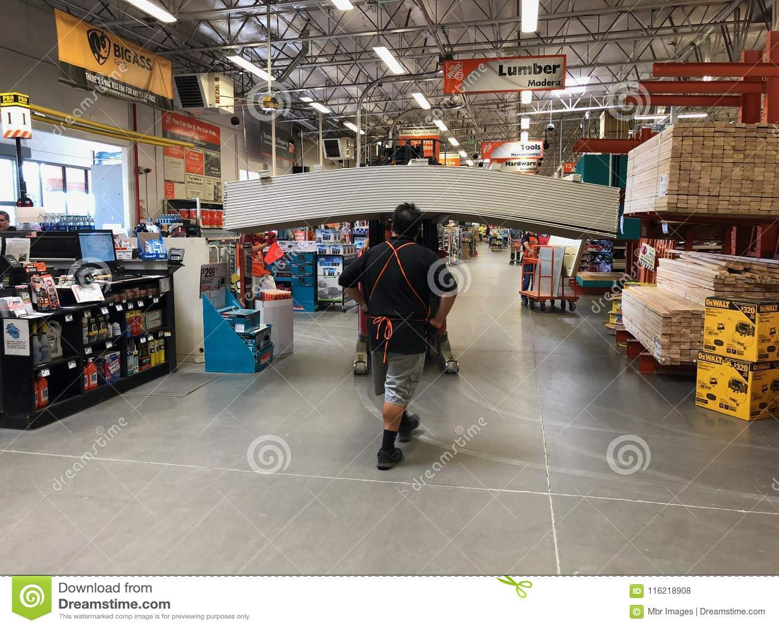 Tienda de las mejoras para el hogar de Home Depot