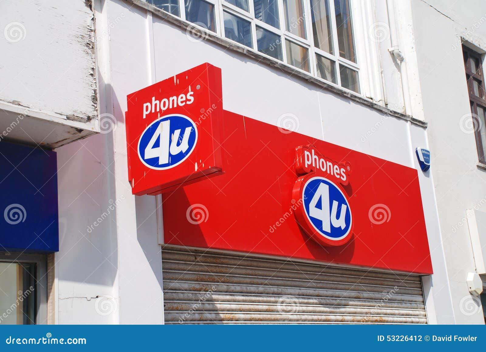 Tienda de los teléfonos 4U