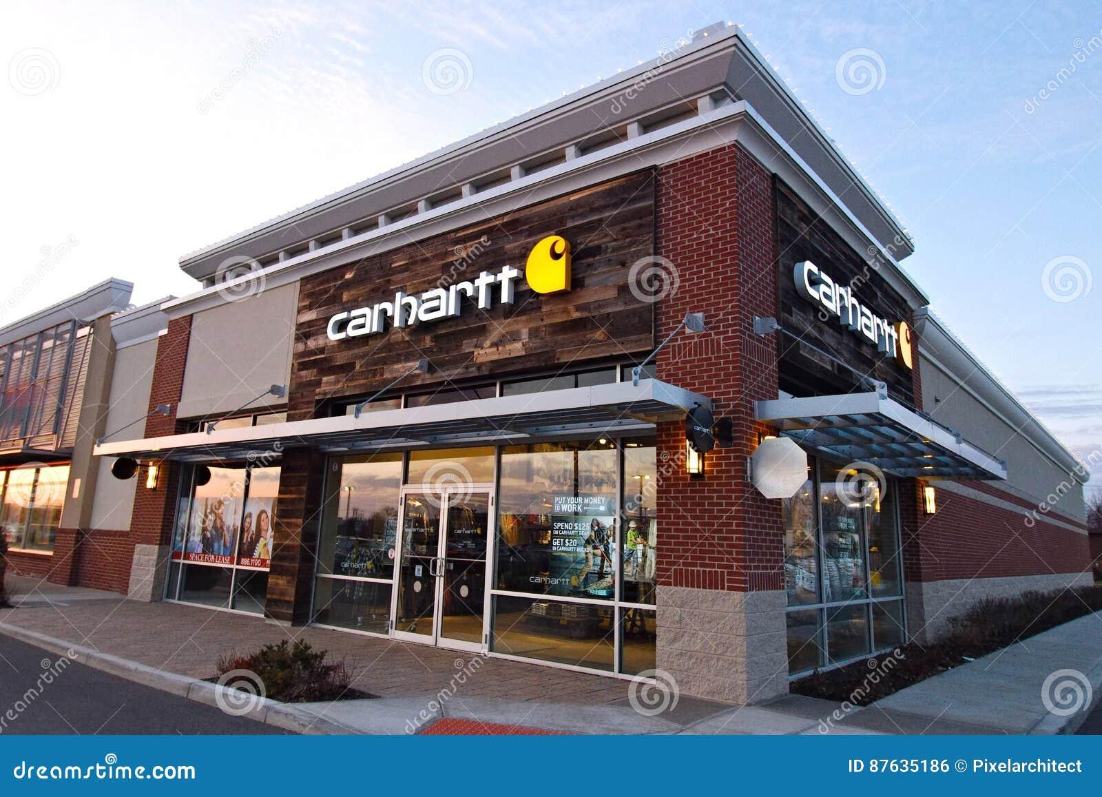 Tienda de ropa de Carhartt