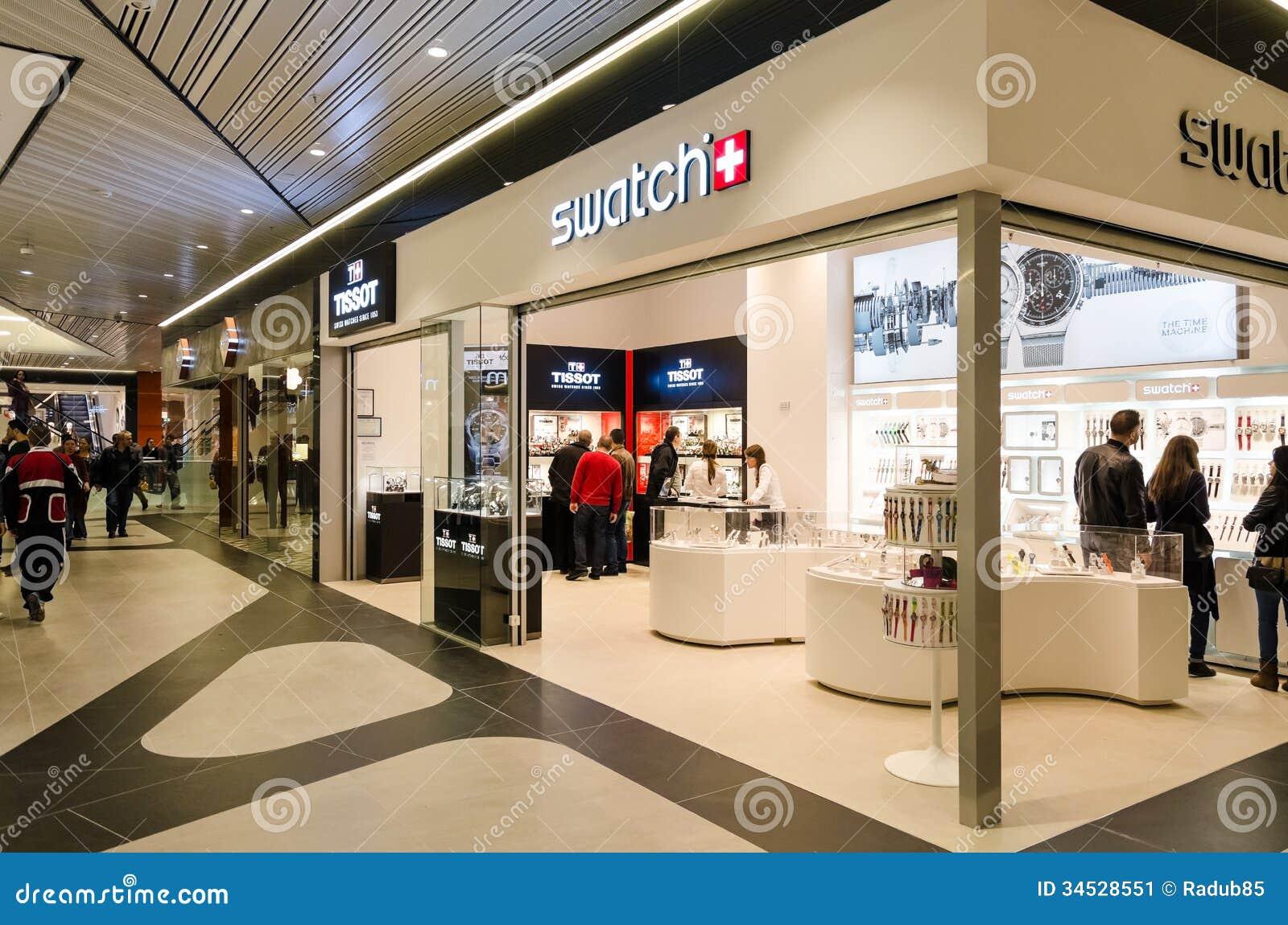 Tienda de Swatch