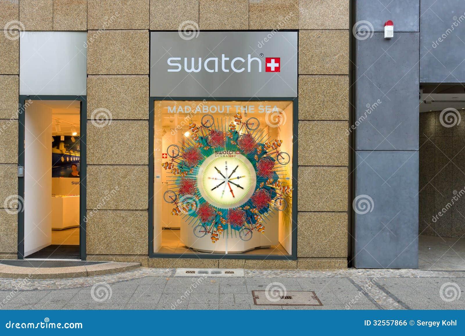 Tienda de Swatch en Kurfuerstendamm