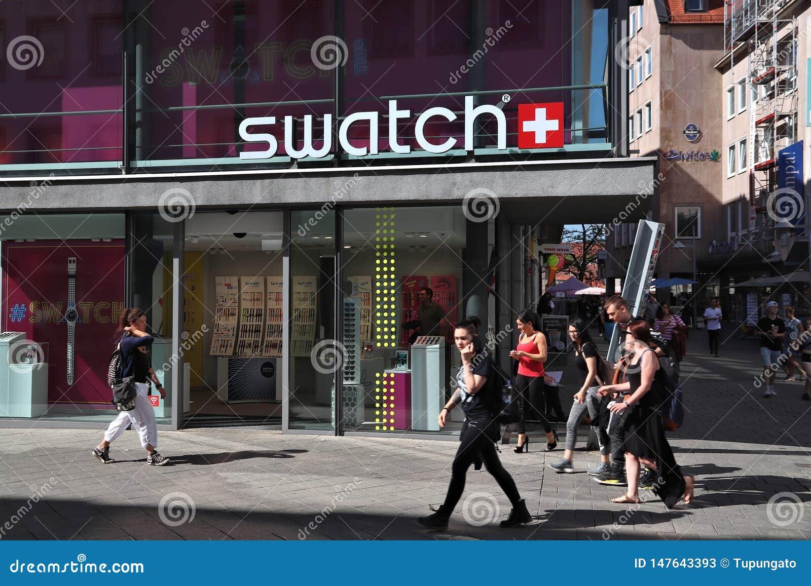 Tienda del reloj de Swatch