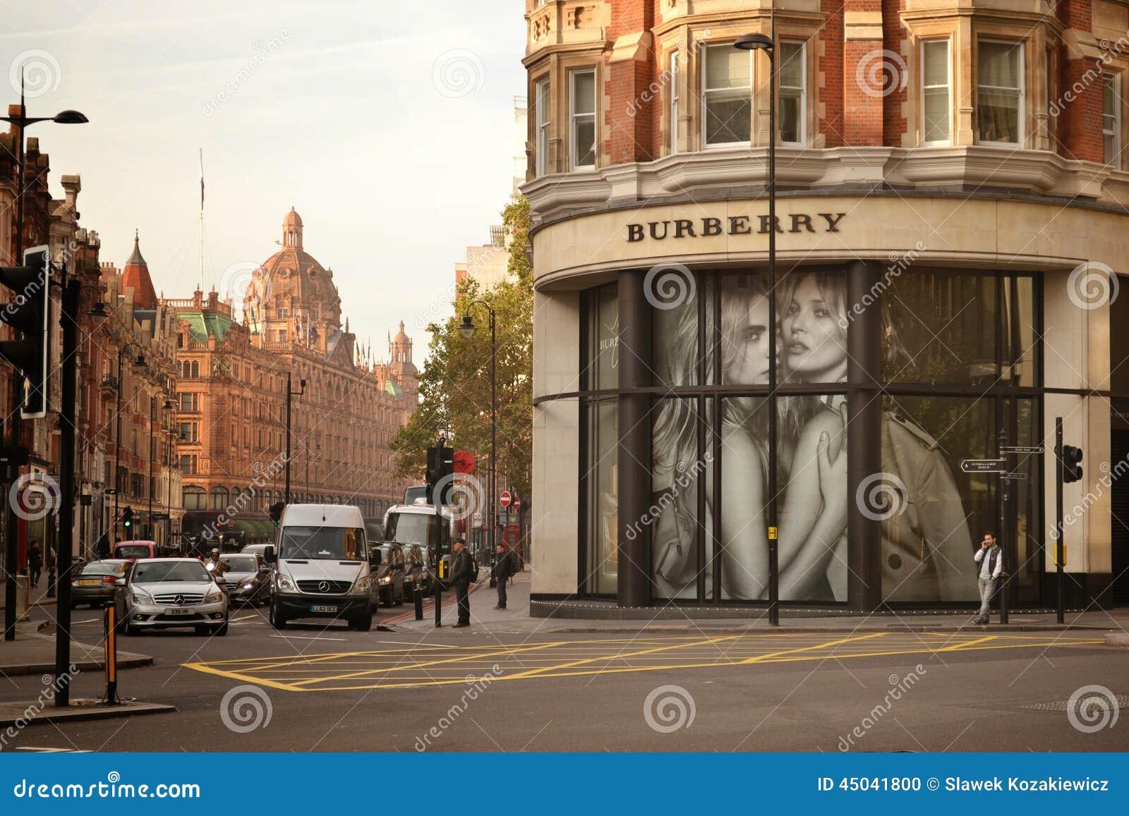 Tienda Knightsbridge Londres de Burberry