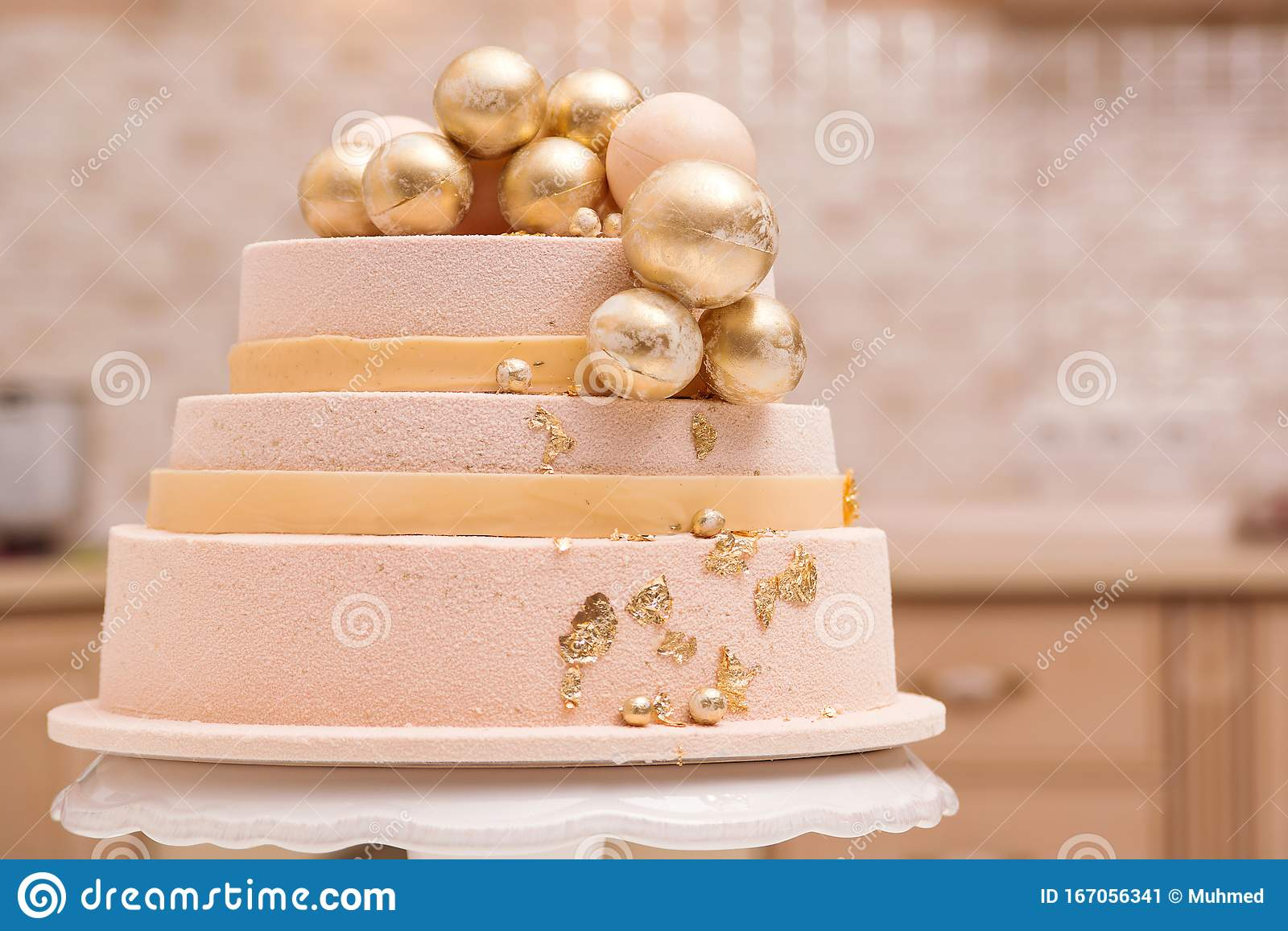 Stupendous Tiered Birthday Cake On White Plate Wedding Cake Decorated With Funny Birthday Cards Online Alyptdamsfinfo