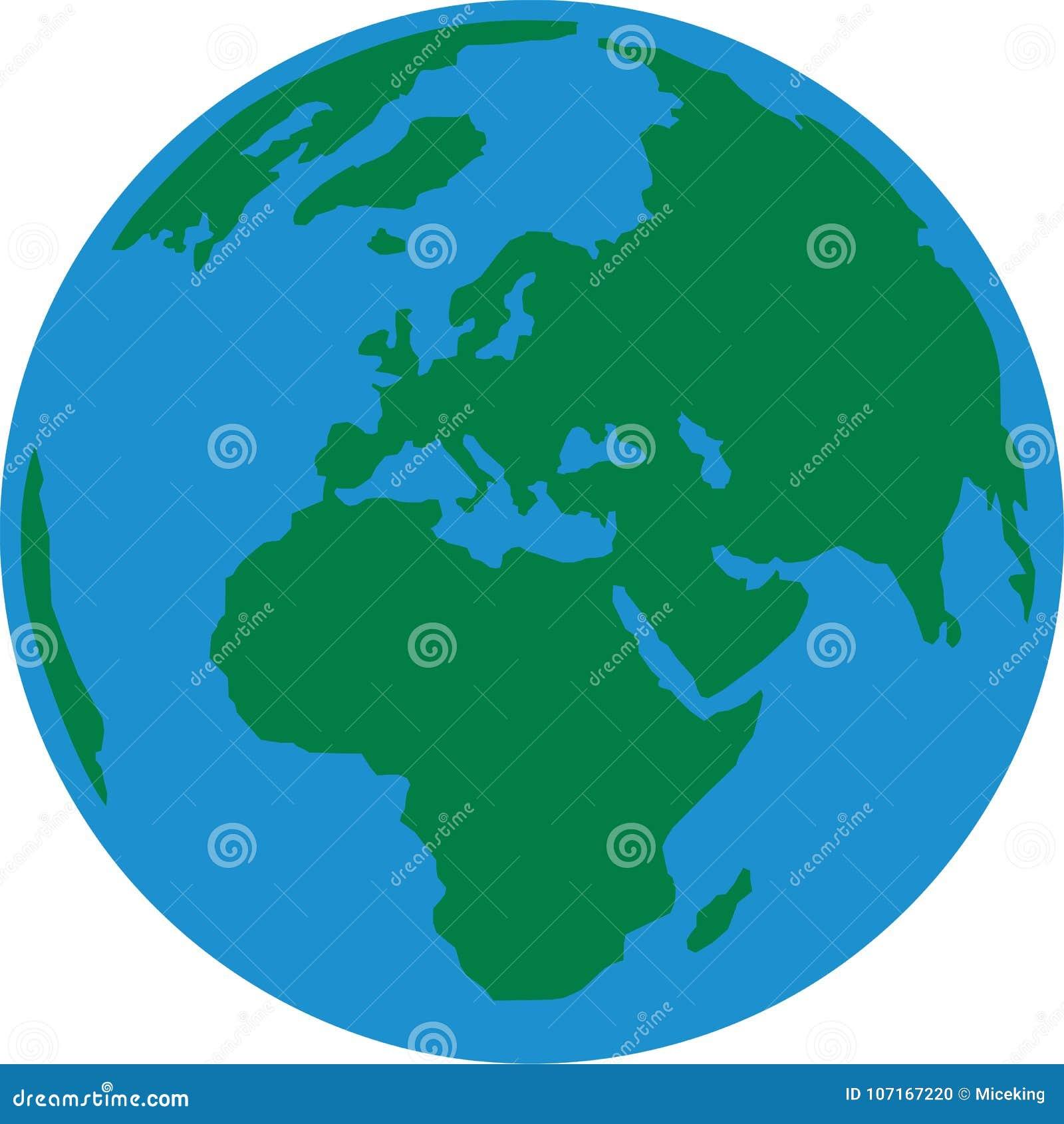 Tierra Europa del planeta