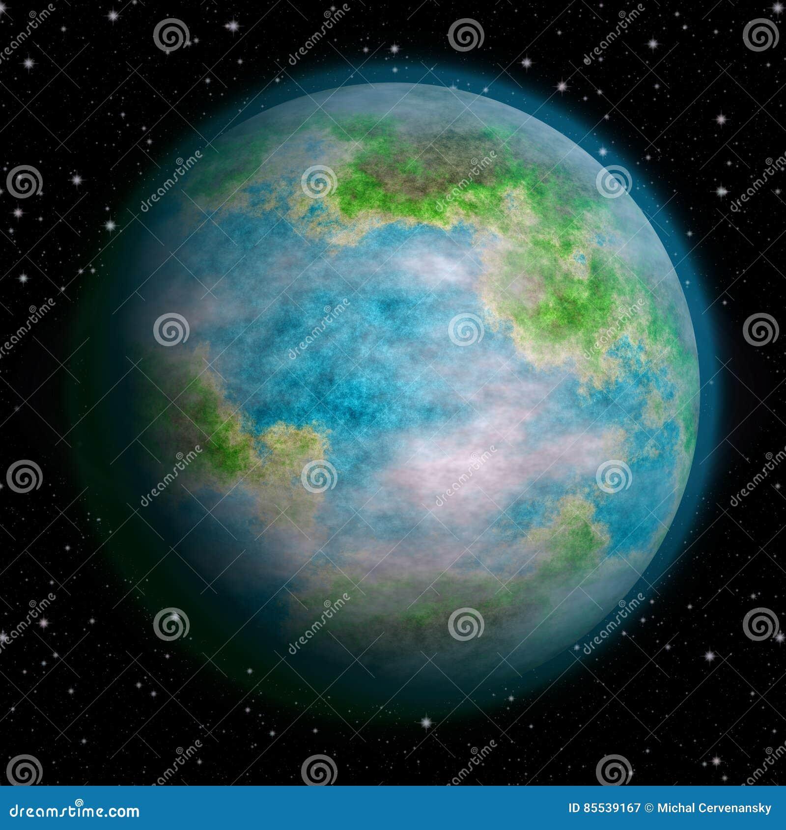 Tierra realista como textura del planeta