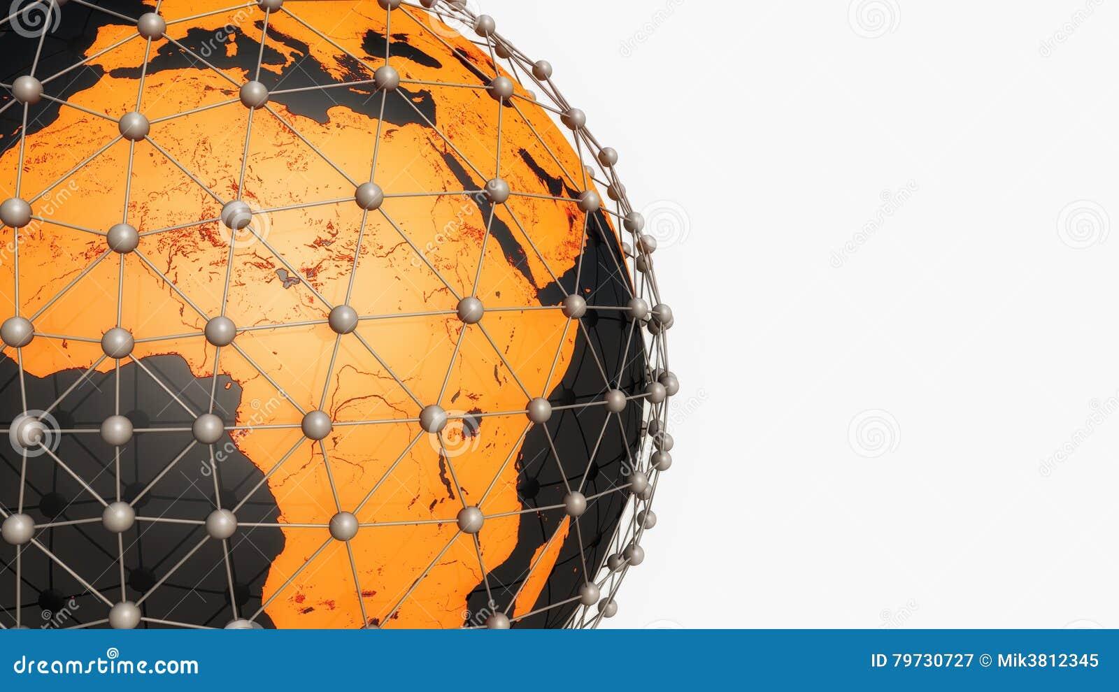 Tierra y conexiones del planeta