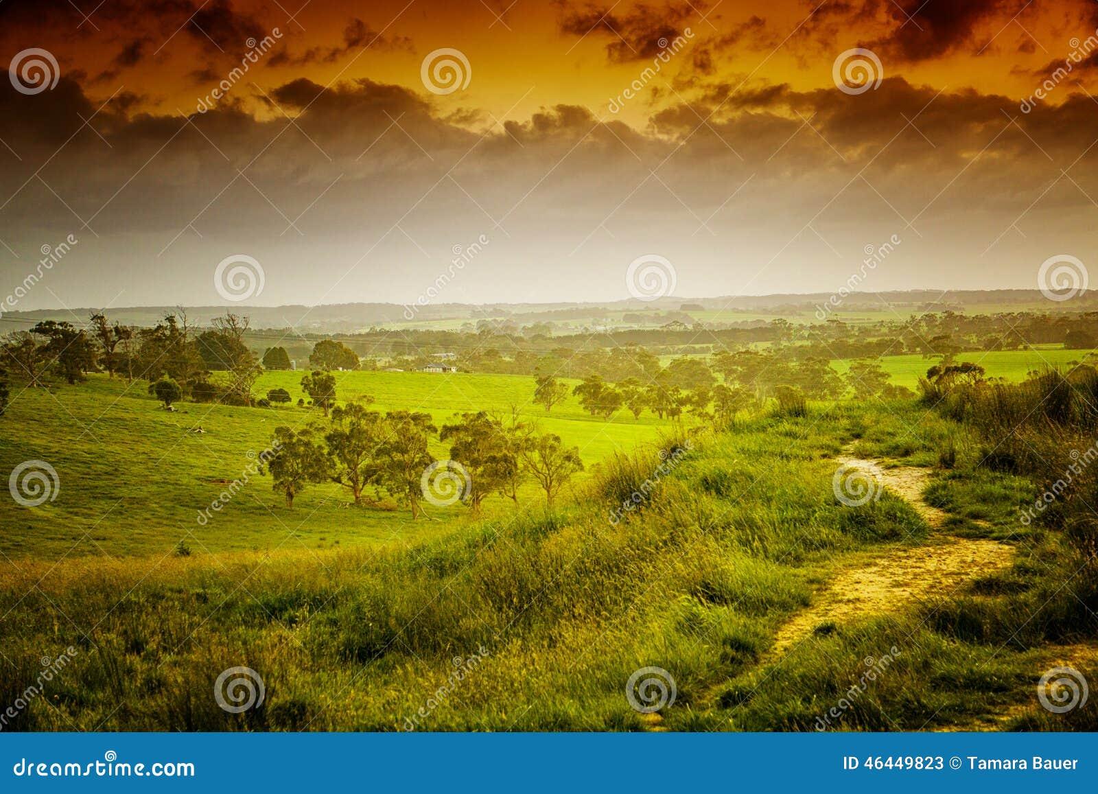 Tierras de labrantío en Australia