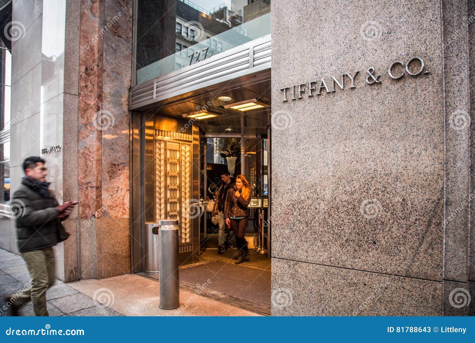 b88f6a4abd13c Tiffany & Co. NYC editorial stock photo. Image of luxury - 81788643