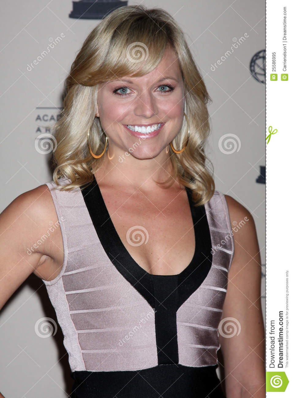 Tiffany coyne arrives at the atas daytime emmy awards nominees
