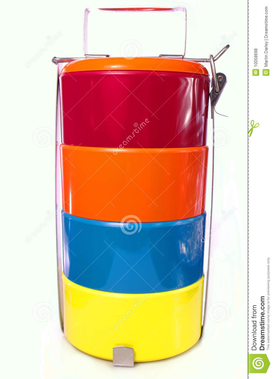 Tiffin Carrier Lunch Box Royalty Free Stock Photos - Image ...