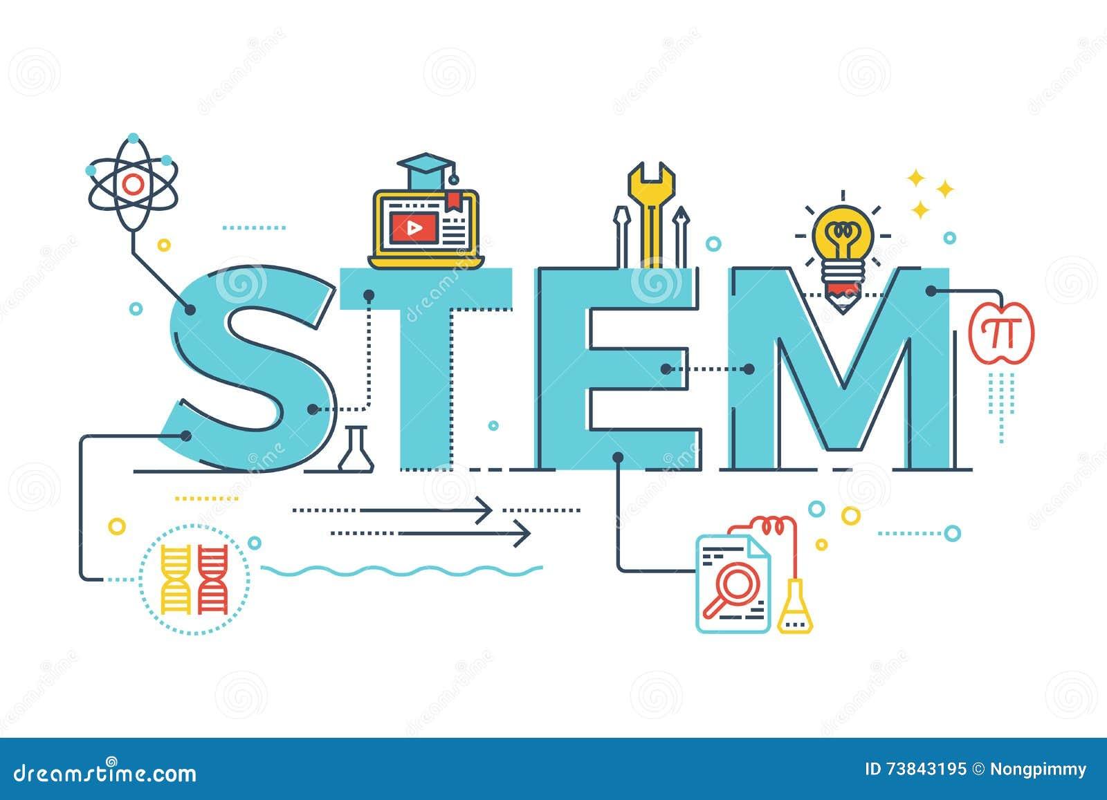TIGE - la science, technologie, ingénierie, mathématiques