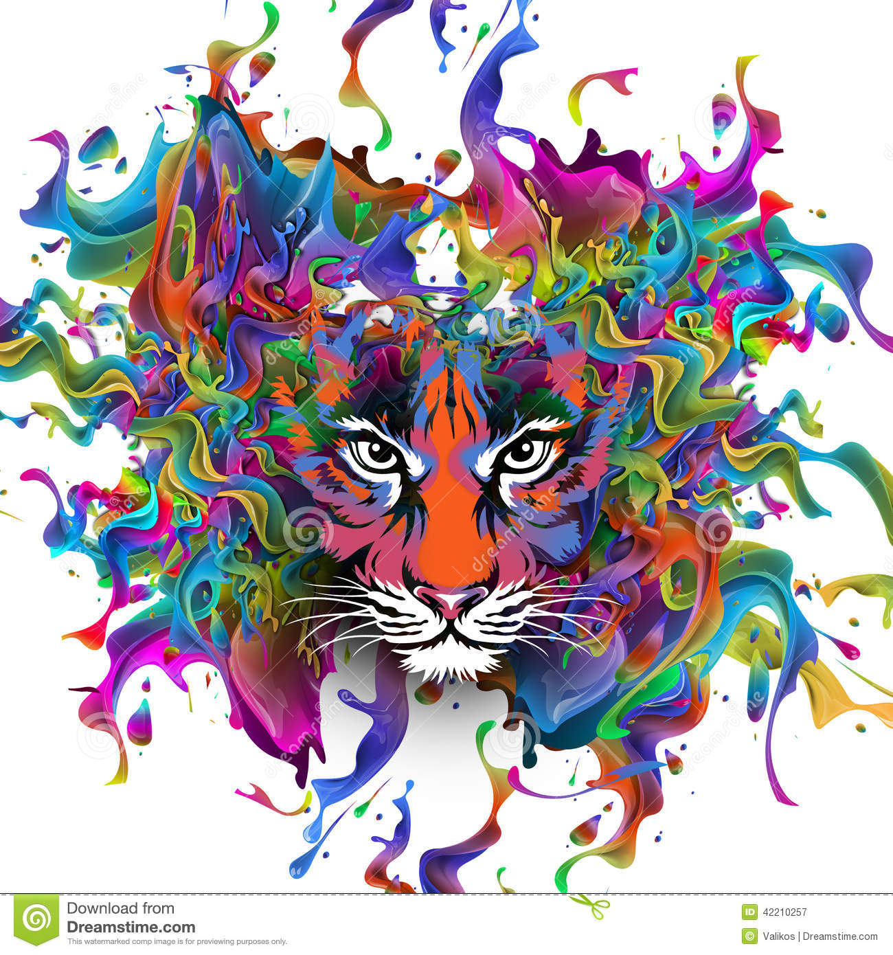Tiger Stock Illustration - Image: 42210257