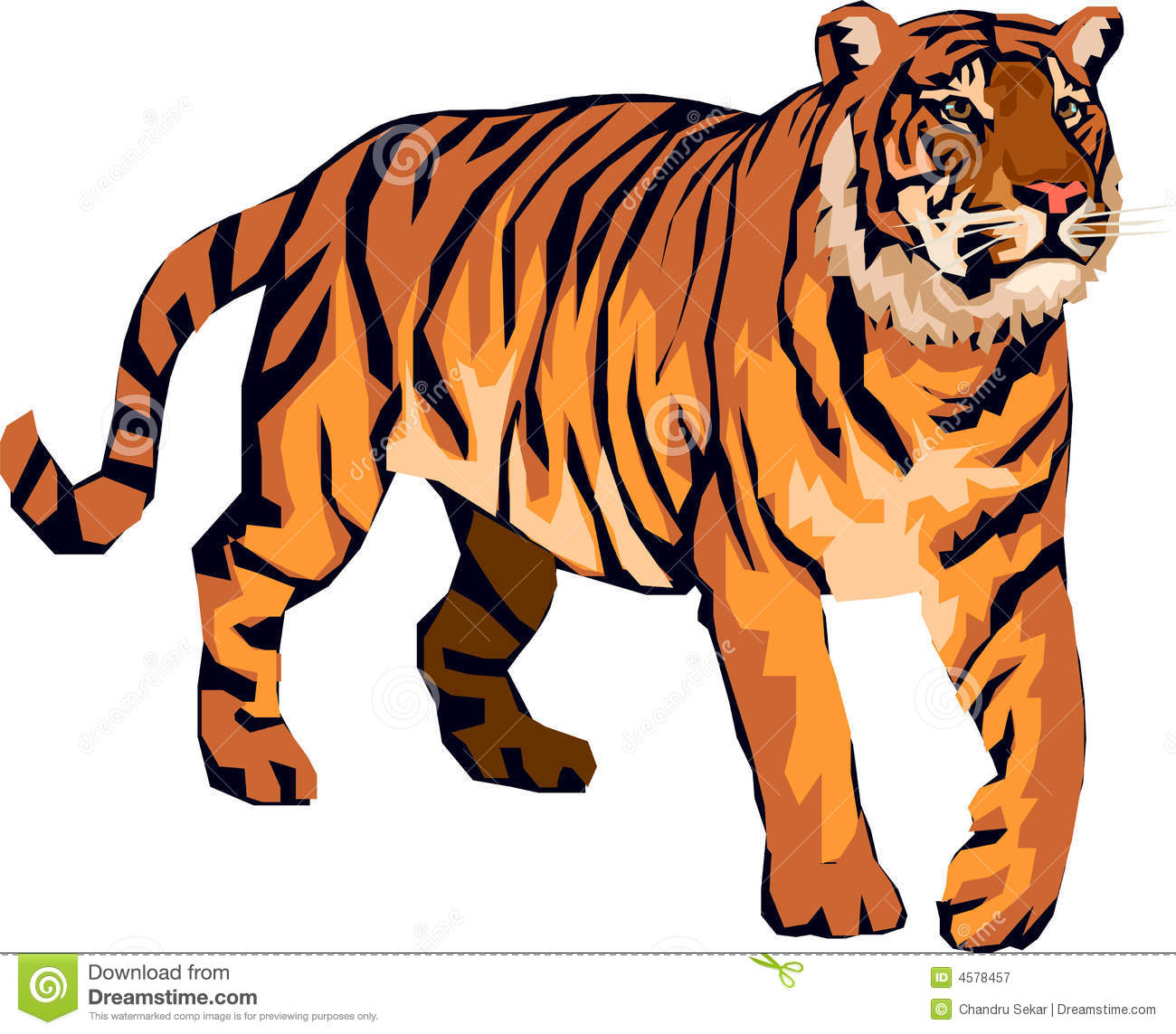 the pictures for u003e angry tiger cartoon