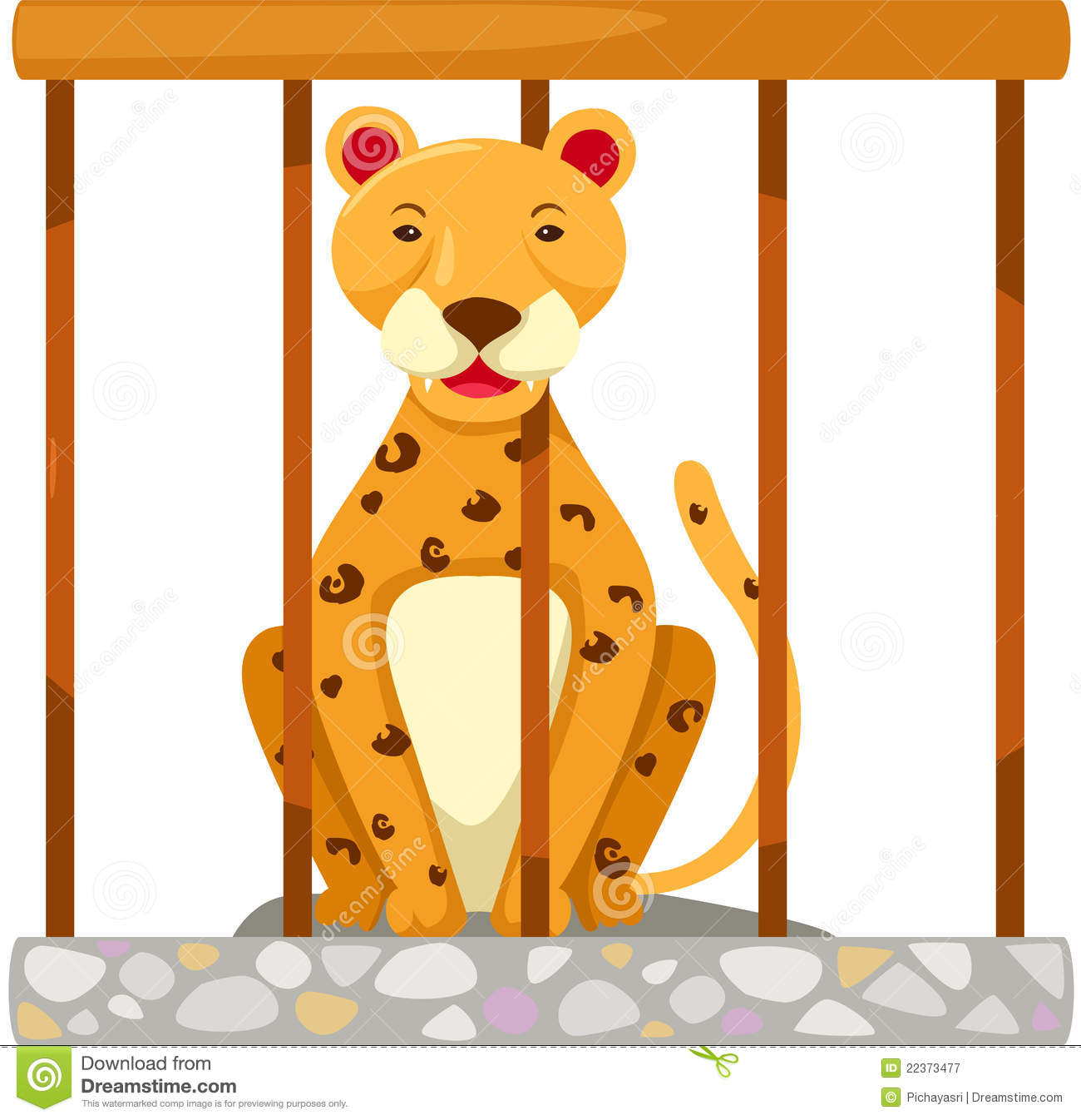 Tiger in cage royalty free stock photography image 22373477 - Tiger in cage images ...