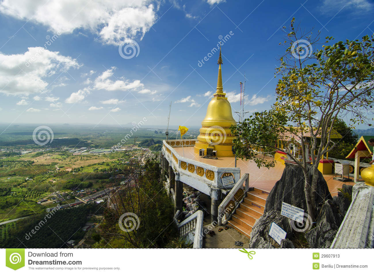 Tiger Cave Temple Stock Photos Image 29607913