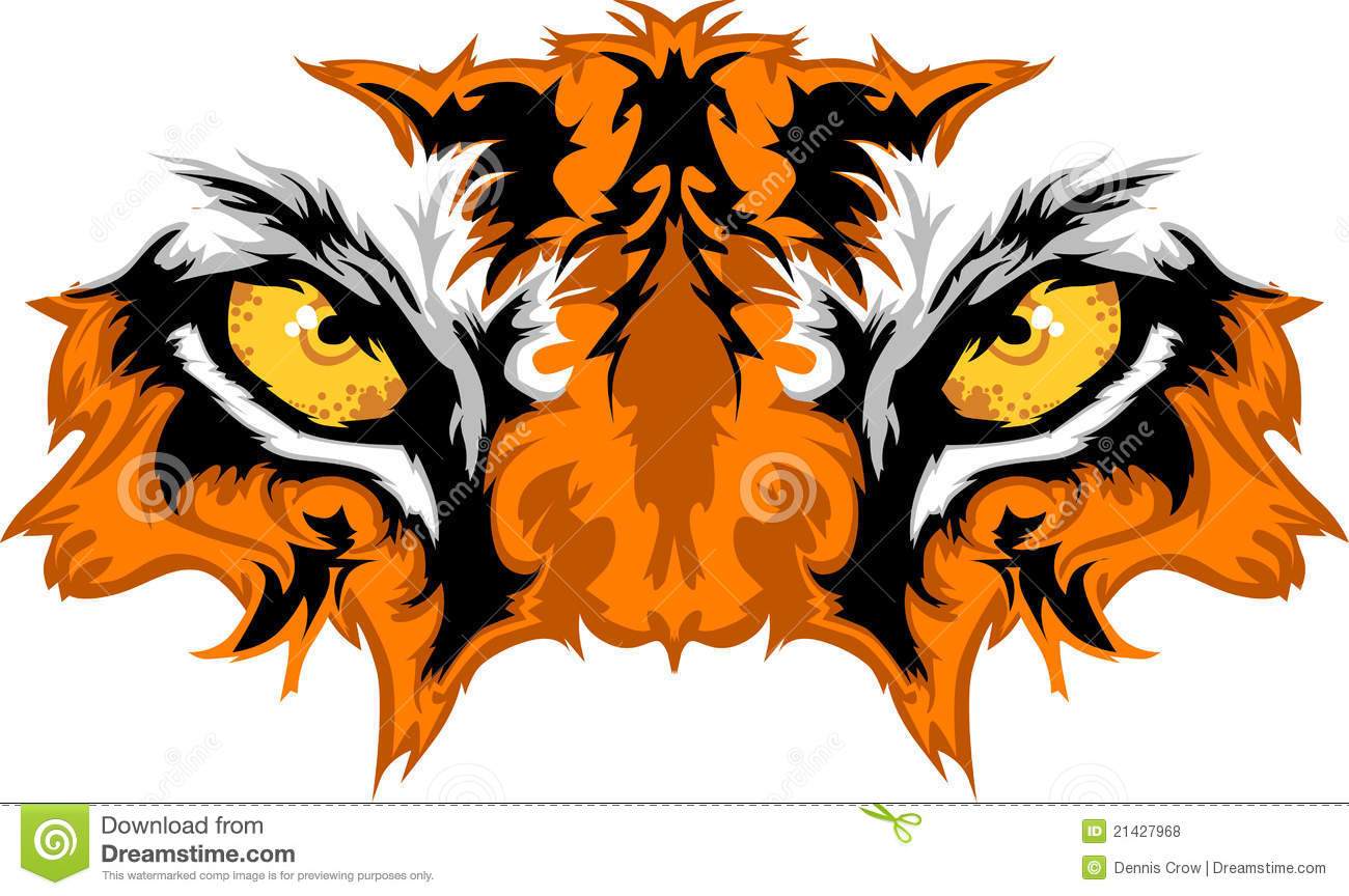 tiger eyes vector graphic stock vector illustration of face 21427968 rh dreamstime com royalty free graphics images royalty free graphics food crisis