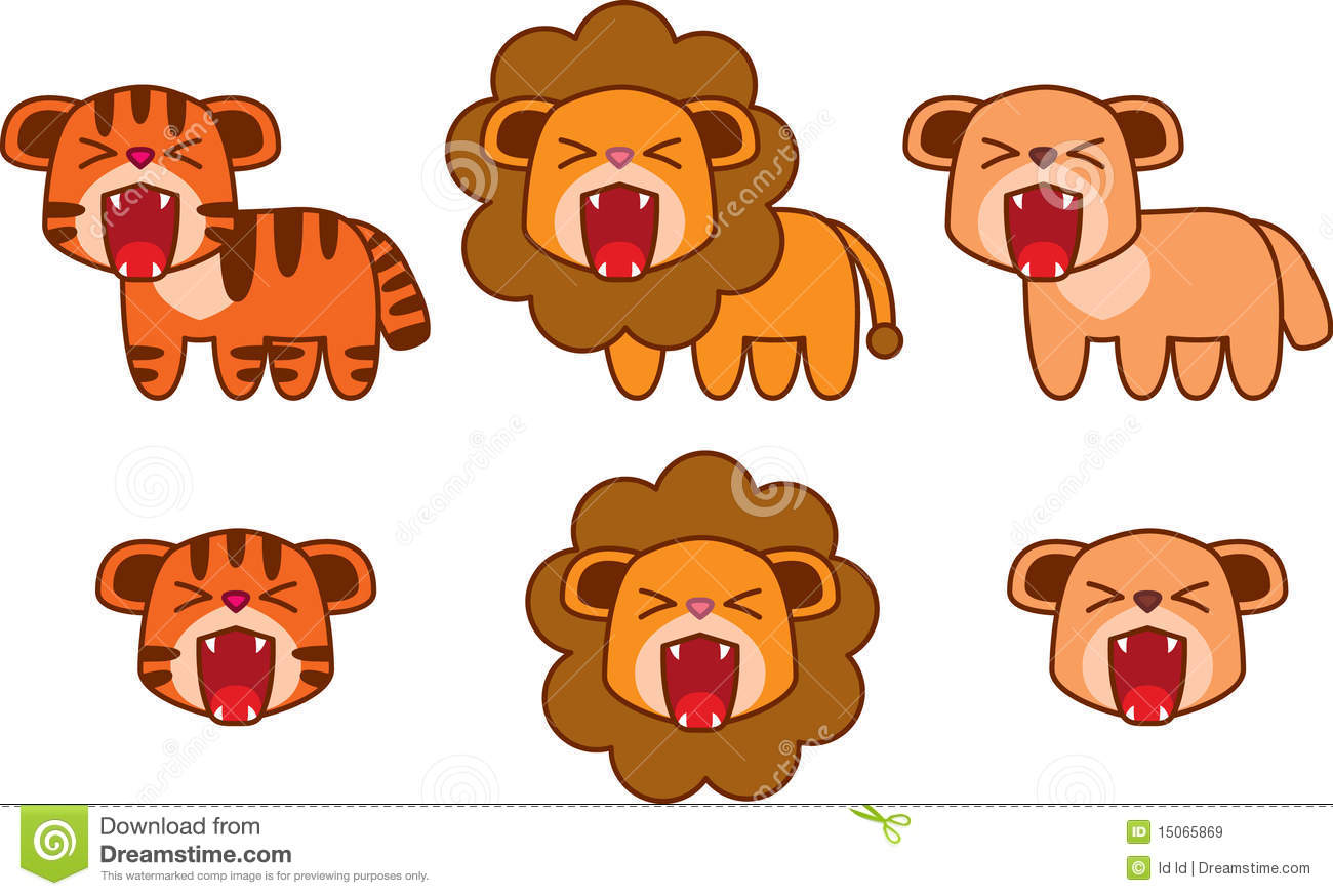 tiger lion puma royalty free stock images image 15065869 free kentucky wildcat clipart free wildcat clipart mascot