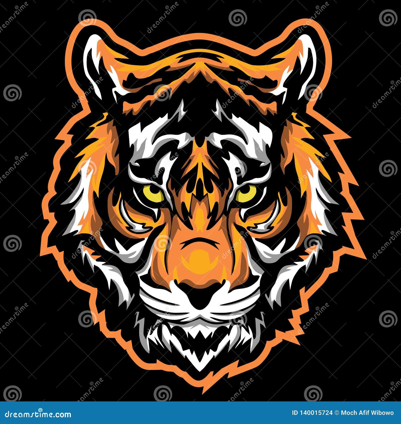 tiger logo mascot esport gaming stock vector illustration of mascot logo 140015724 https www dreamstime com tiger logo mascot esport gaming image140015724