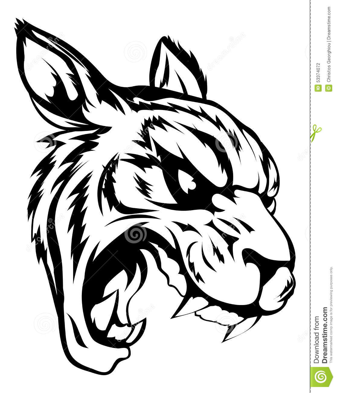 tiger pride clip art - photo #31