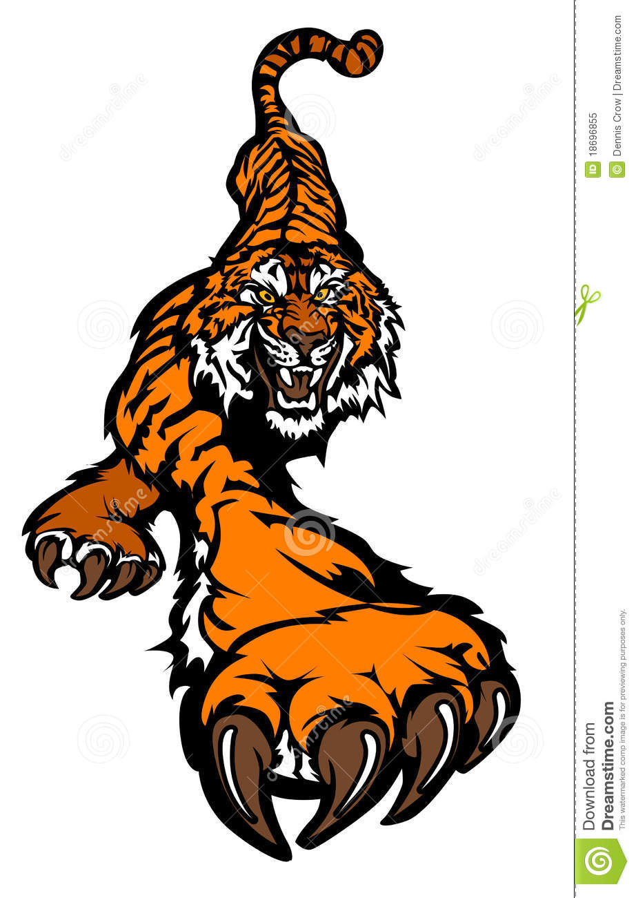 Tiger Logo Mascot Royalty - Free  Vector Image Photo Stock