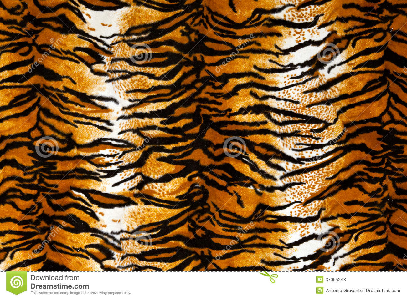 Tiger Print Background Royalty Free Stock Photos - Image: 37065248