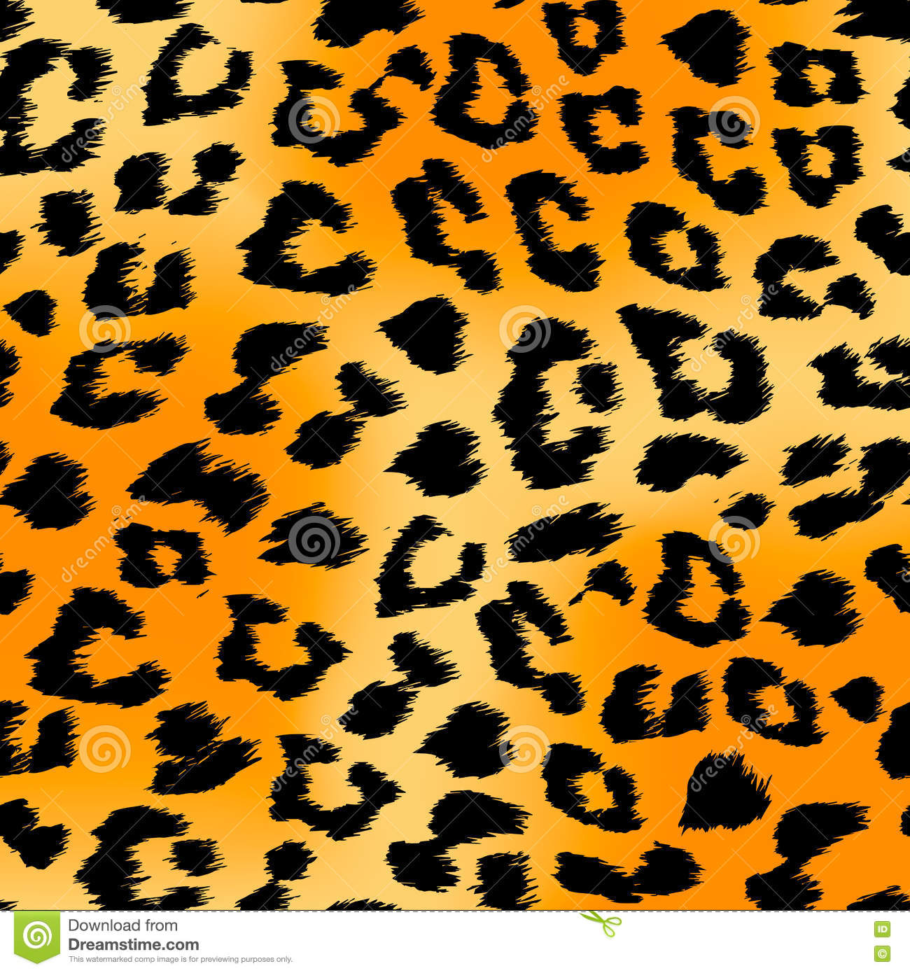 tiger print background stock vector image 76491503