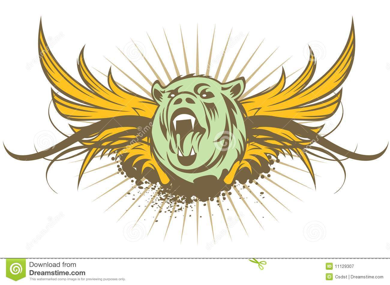 Tiger symbol stock vector image of symbol illustration 11129307 tiger symbol biocorpaavc