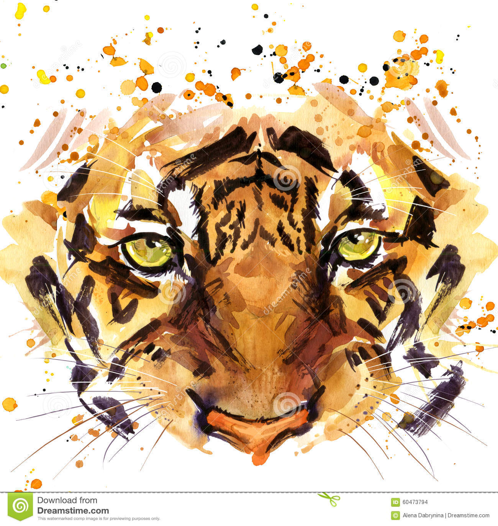 Tiger Eyes Stock Photos - Image: 12195663