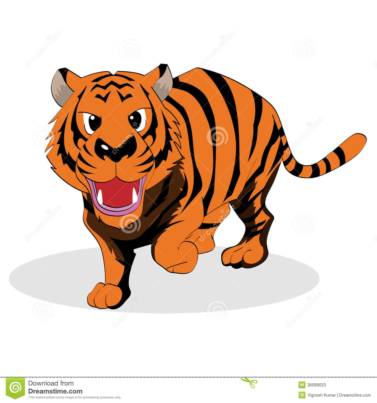 Tattoo Designs Vignesh: Tiger Stock Photos