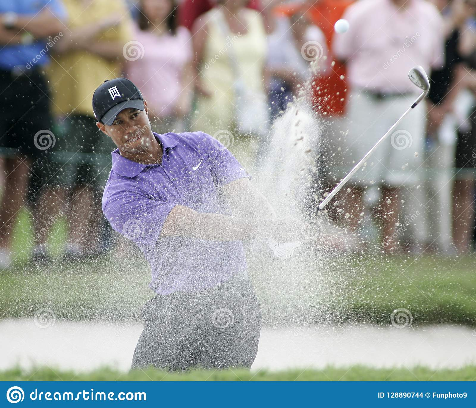 Tiger Woods at Doral in Miami